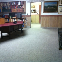 """And here is the """"after"""" view of the director's office."""