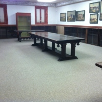 The Conference Room with installation complete.