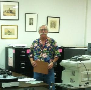 Brian Burd former SBMAL Photo Curator.