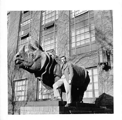 Norman with Rhino